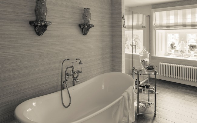 Interior Design - Victorian villa bathroom