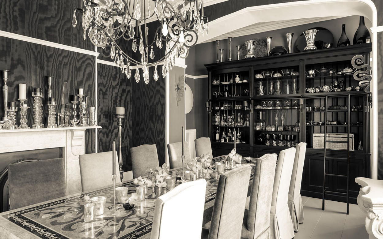 Interior Design - Victorian villa dining room