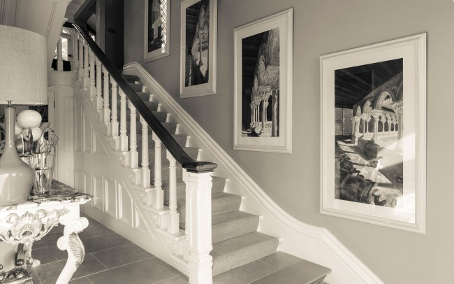 Interior Design - Victorian villa hallway